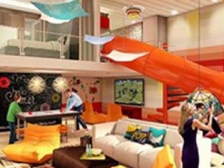 Описание на каюта Ultimate Family Suite - US на круизен кораб SPECTRUM Of The Seas – обзавеждане, площ