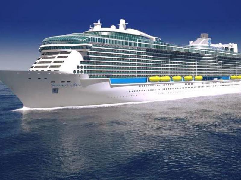 Круизен кораб SPECTRUM Of The Seas на Royal Caribbean Intl.