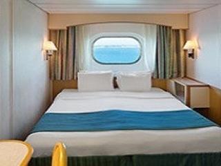 Описание на каюта Outside Guarantee - категория YO на круизен кораб MAJESTY of the seas – обзавеждане, площ