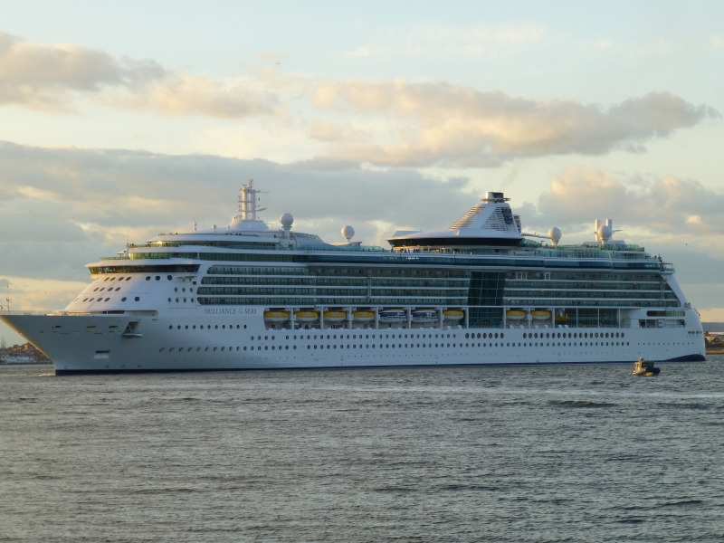 Круизен кораб BRILLIANCE of the seas на Royal Caribbean Intl.
