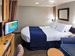 Описание на каюта Interior Cabin – категория 2V на круизен кораб BRILLIANCE of the seas – обзавеждане, площ