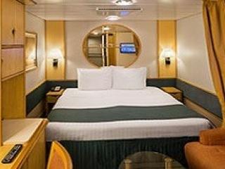 Описание на каюта Inside Guarantee Interior – категория ZI на круизен кораб ENCHANTMENT of the Seas – обзавеждане, площ