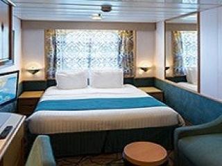 Описание на каюта Outside Guarantee - категория YO на круизен кораб ENCHANTMENT of the Seas – обзавеждане, площ