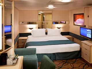Описание на каюта Interior Cabin – категория 2V на круизен кораб GRANDEUR Of The Seas  – обзавеждане, площ
