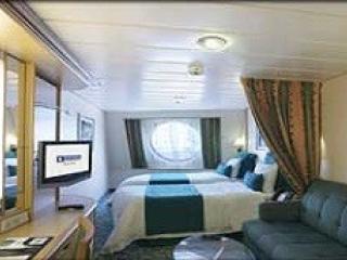Описание на каюта Ocean View Stateroom - категория 6N на круизен кораб GRANDEUR Of The Seas  – обзавеждане, площ