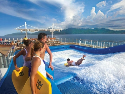 Круизен кораб ALLURE Of The Seas на Royal Caribbean Intl.