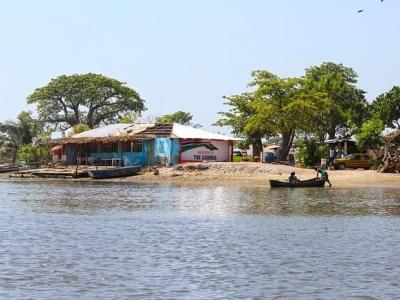 Описание и снимки на пристанище Банжул, Гамбия от круизен маршрут