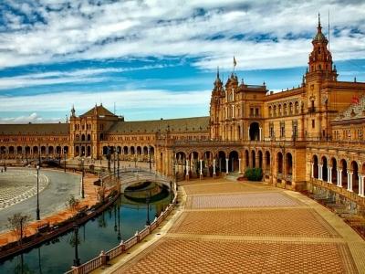 Описание и снимки на пристанище Севиля, Испания от круизен маршрут