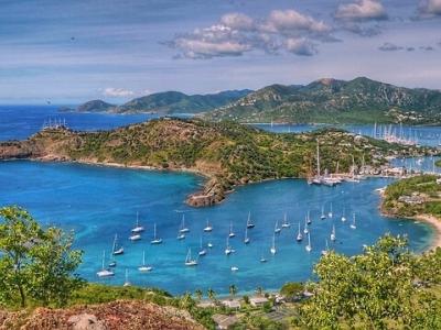 Описание и снимки на пристанище Антигуа, Антигуа и Барбуда от круизен маршрут