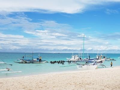 Описание и снимки на пристанище Боракай, Филипини от круизен маршрут