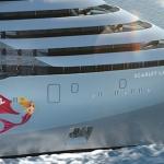 Първият кораб на Virgin Voyages Scarlet Lady