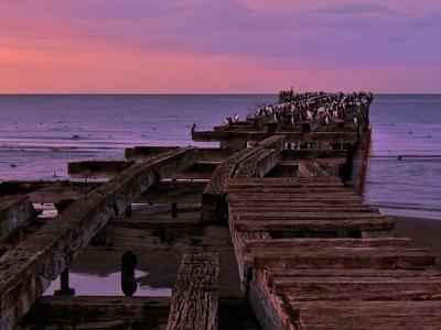 Описание и снимки на пристанище Магеланов проток, Чили от круизен маршрут