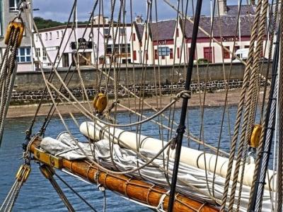 Описание и снимки на пристанище Сторновей, Великобритания от круизен маршрут