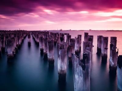 Описание и снимки на пристанище Бънбъри, Австралия от круизен маршрут
