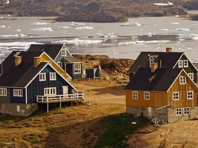 Описание и снимки на пристанище Принц Кристиан Санд, Гренландия от круизен маршрут