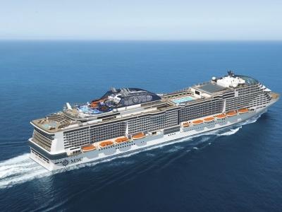 Круизен кораб MSC Grandiosa на MSC Cruises