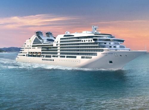 Круизен кораб Seabourn Ovation на Seabourn