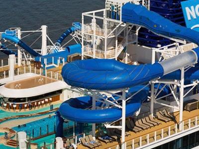 Круизен кораб Norwegian Bliss на Norwegian Cruise Line
