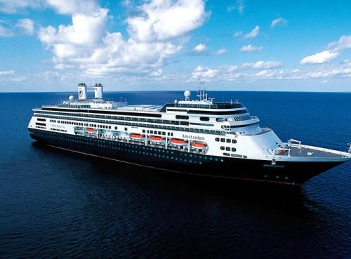 Круизен кораб Amsterdam на Holland America Line