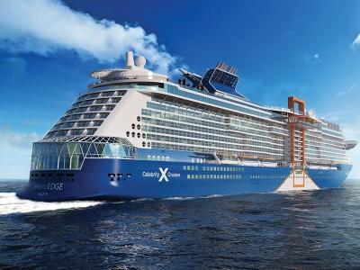 Круизен кораб Celebrity Edge на Celebrity Cruises