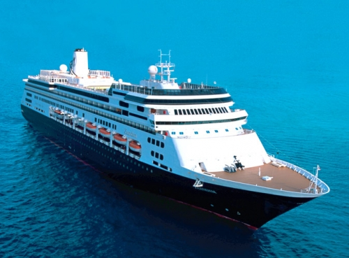 Круизен кораб Zaandam на Holland America Line