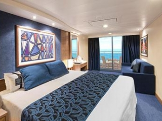 Описание на каюта  Каюти с балкон - клас Fantastica на круизен кораб MSC Poesia – обзавеждане, площ