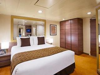 Описание на каюта Вътрешни каюти – клас Bella на круизен кораб MSC Splendida – обзавеждане, площ