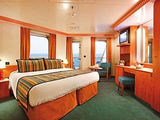 Описание на каюта Малък апартамент - категория MS на круизен кораб Costa DIADEMA – обзавеждане, площ