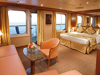 Описание на каюта Апартамент - категория S на круизен кораб Costa DIADEMA – обзавеждане, площ