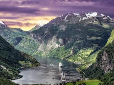 Описание и снимки на пристанище NORDFIORDEID, Норвегия от круизен маршрут