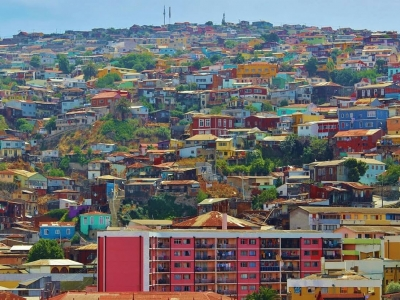Описание и снимки на пристанище Валпараисо (Чили), Чили от круизен маршрут