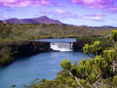 Описание и снимки на пристанище Дес Пинс (Нова Каледония), Нова Каледония от круизен маршрут