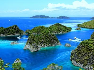 Описание и снимки на пристанище Дойни (Папуа-Нова Гвинея), Папуа-Нова Гвинея от круизен маршрут