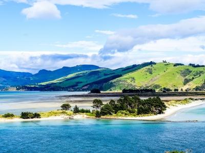 Описание и снимки на пристанище Дънедин (Нова Зеландия), Нова Зеландия от круизен маршрут
