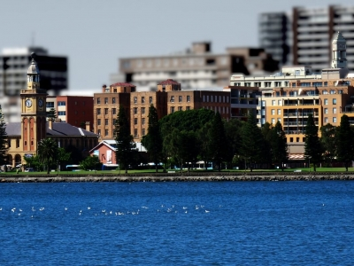 Описание и снимки на пристанище Нюкасъл (Австралия), Австралия от круизен маршрут