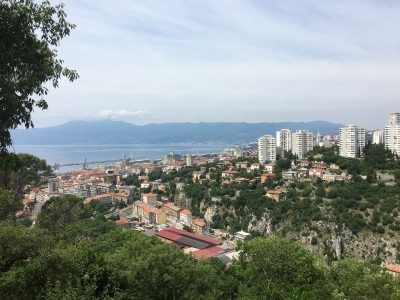 Описание и снимки на пристанище Риека, Хърватска от круизен маршрут