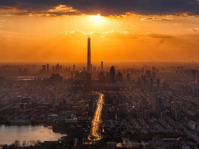Описание и снимки на пристанище Тиендзин (Китай), Китай от круизен маршрут