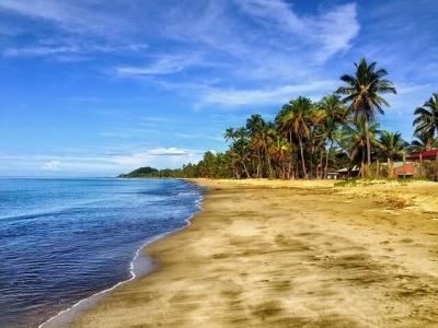 Описание и снимки на пристанище Сува (Фиджи), Фиджи от круизен маршрут