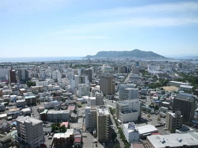 Описание и снимки на пристанище Хакодате (Япония), Япония от круизен маршрут
