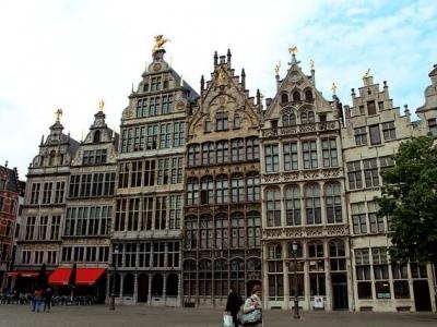 Описание и снимки на пристанище Антверпен, Белгия от круизен маршрут