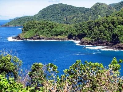 Описание и снимки на пристанище Паго Паго (Американска Самоа), Американска Самоа от круизен маршрут