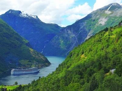 Описание и снимки на пристанище Гeйрангер (Норвегия), Норвегия от круизен маршрут