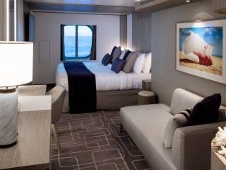 Описание на каюта Oceanview Guarantee - Външна гарантирана каюта-категория Y на круизен кораб Celebrity Apex – обзавеждане, площ