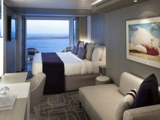 Описание на каюта Concierge Class – ВИП каюти - категории C3 на круизен кораб Celebrity Apex – обзавеждане, площ