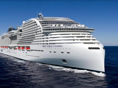 Круизен кораб MSC World Europa на MSC Cruises