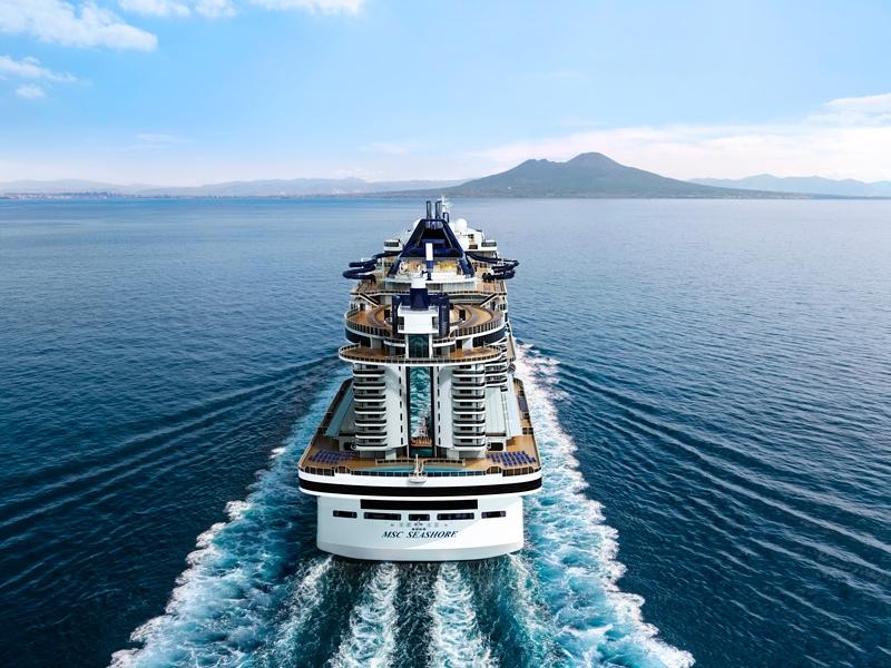Круизен кораб MSC Seashore на MSC Cruises