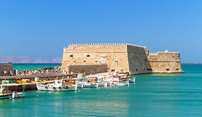 Венецианската крепост в Ераклион, остров Крит