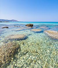 Плаж на остров Крит