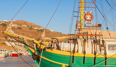 Старото пристанище на остров Миконос