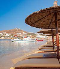 Плаж на остров Миконос